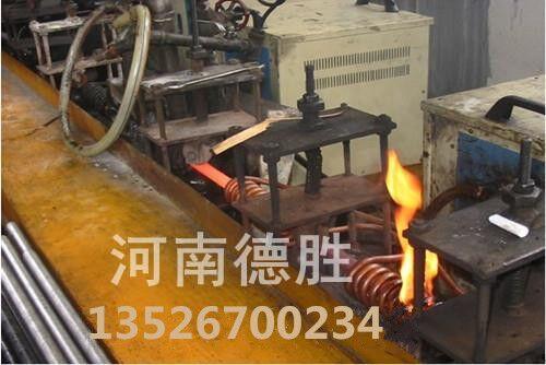 中频感应加热设备圆钢棒料在线调质处理